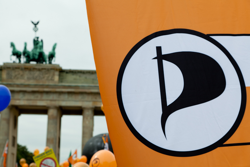 Piraten in Berlin | CC-BY Tobias M. Eckrich