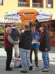 Unser Infostand in Kelkheim am 12.05.2012