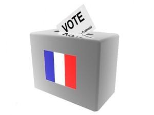 Wahlurne Frankreich