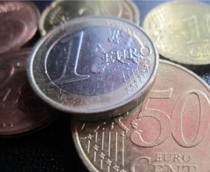 Foto Euro-Münzen