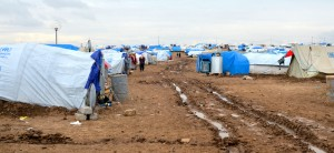 Domez Refugee Camp | CC BY Enno Lenze
