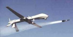 Predator Drohne mit Hellfire Rakete | Public Domain (by Lance Mans)