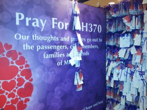Pray for MH370 | CC BY-NC 2.0 hengsiong