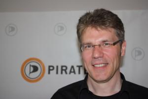 Stefan Körner, neuer Vorsitzender der Piratenpartei Deutschland. CC-BY-SA Leuchtfeuerfunk