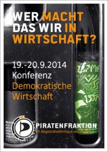 Demokratische Wirtschaftsordnung | CC BY fbordfeld@piratenfraktion-berlin.de