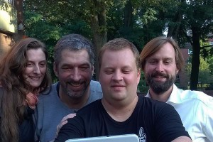 Die ersten vier Kandidaten für Hamburg: die ersten vier Kandidaten! Herzlichen Glückwunsch :-) @piratenproll @pauli_pirat @biomotor @die_primel | CC BY SA Stefan Körner