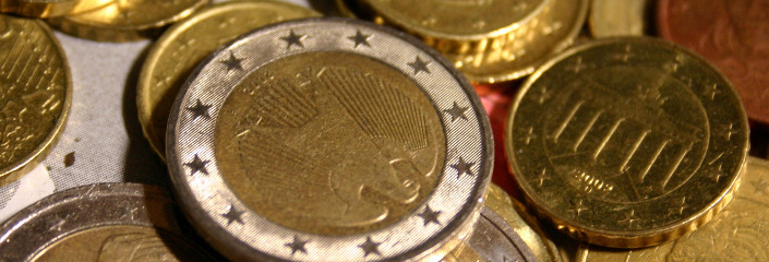 Random euro coin collection IX | CC BY SA 2.0  Till Westermayer