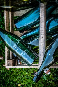 Green Bottles | CC BY 3.0 Kristof Zerbe