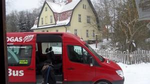 Die BürgerBus zum erste mal in Weitzgrund | CC BY 2.0| wam kat