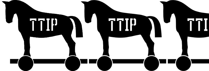 TTIP Trojan Horse | CC0 nach einer Vorlage von worker