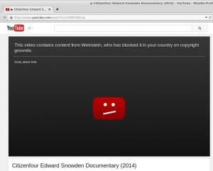 Screenshot von YoutTube, am 24.01.15 von einer US IP-Adresse aufgenommen