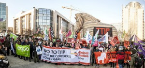 Stop the Trojan treaty – Brussels 04/02/15| Mehr Demokratie | CC BY 2.0|