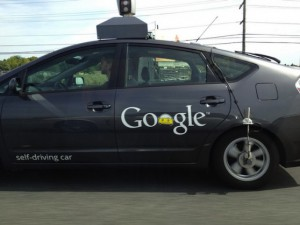Google's self-driving car | CC BY SA 2.0  Saad Faruque