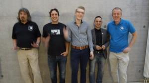 Neuer Vorstand in Brandenburg Andreas Schramm, Oliver Mücke, Raoul Schramm, Jens Heidenreich, Thomas Langen  | CC BY Ideenwanderer