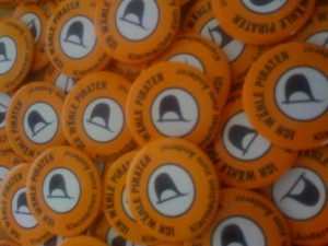 Piratenpartei Buttons | CC BY ND 2.0   Rainer Bendig