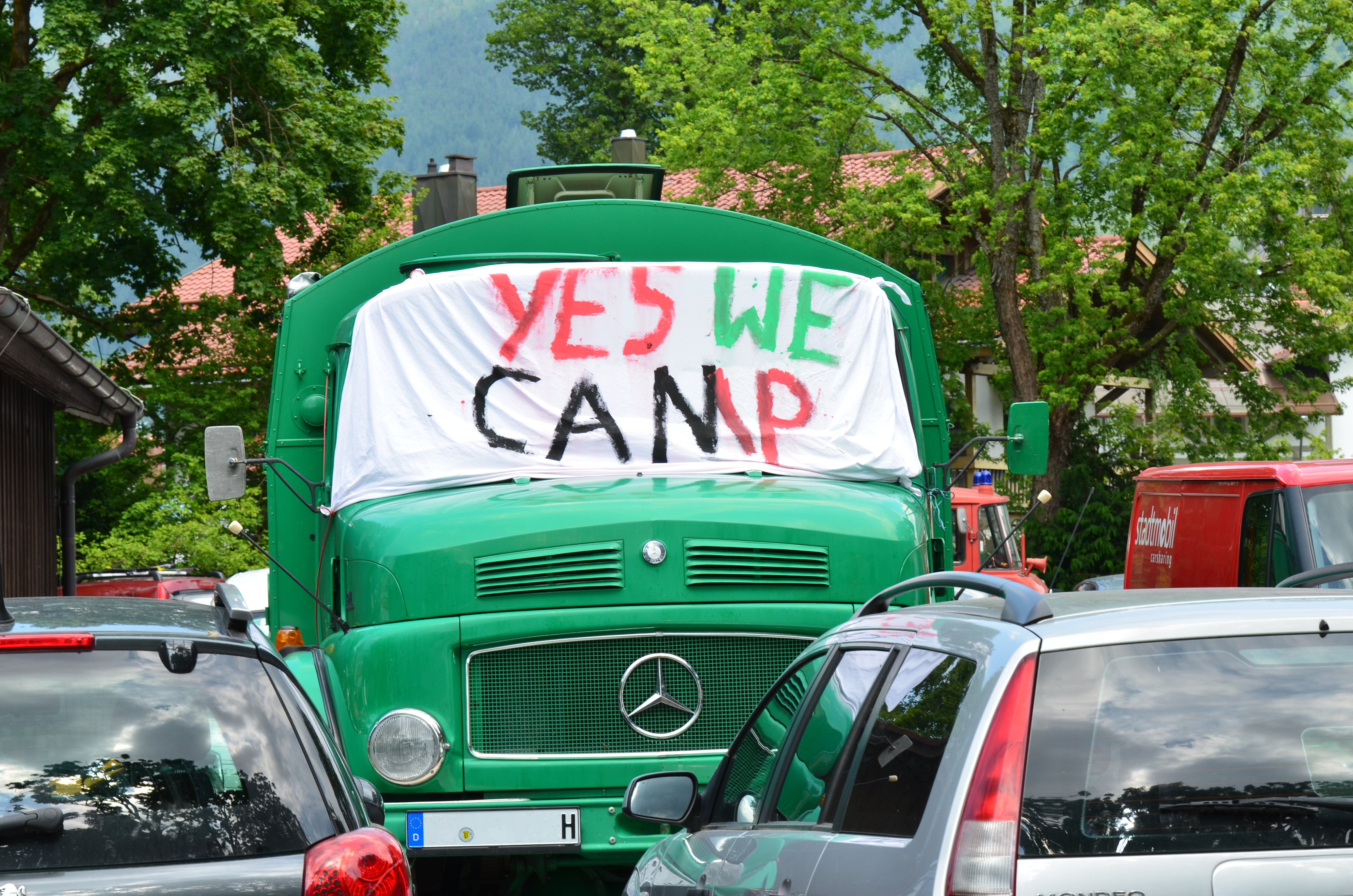 Yes we camp - Protestcamp zum G7-Gipfel | CC BY 4.0 Michael Renner