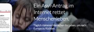 Onlineantrag auf Asyl | CC BY Daniel Graf