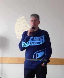 @sekor eröffnet den Tag der politischen Arbeit der #Piraten in #Kassel | CC BY Christopher Schrage