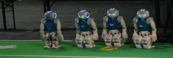 RoboCup auf der Make Munich 2016 | CC BY Manele Roser