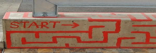 Maze Starts Here | CC BY SA 2.0  Michael Coghlan