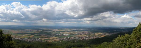 Blick vom Melibokus (Bergstrasse) | CC BY NC 2.0  Dennis Henge