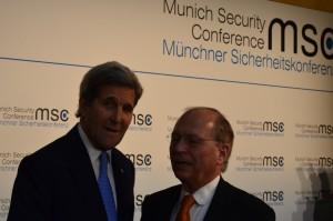 John Kerry und Wolfgang Ischinger bei der MSC 2016 | CC BY 4.0 Michael Renner