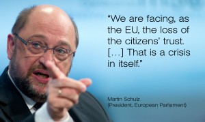 Martin Schulz President, European Parliament | Bildquelle: MSC / Simon