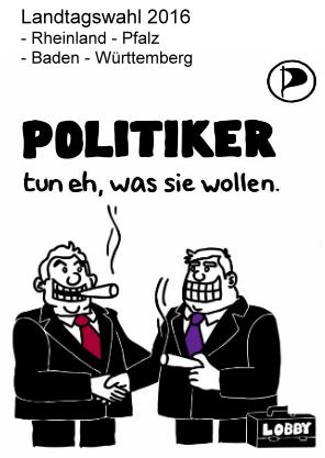 Politiker tun