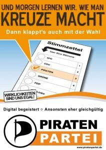 Piratenpartei: Lernfähig | Elias Schwerdtfeger CC BY NC SA 2.0