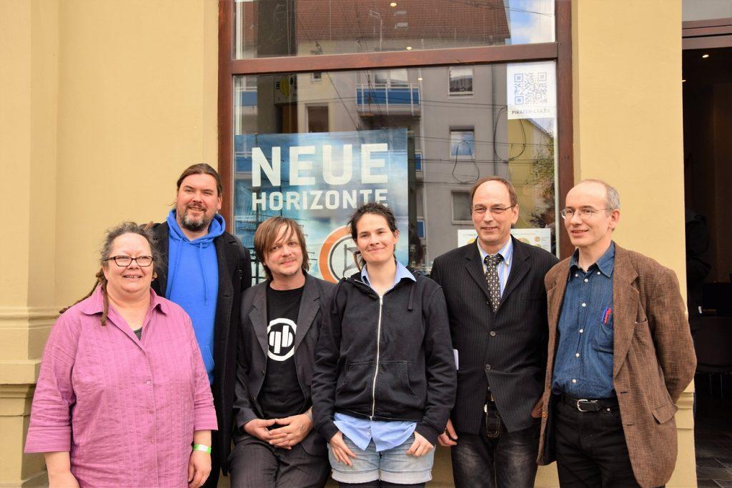 Der neue Vorstand der PIRATEN Sachsen-Anhalt | CC-BY-2.0 Denis Mau via flickr