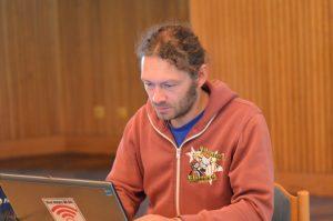 "Tobias ""Kalle"" McFadden beim LPTBY2015 | CC BY 4.0 Emmanuelle Roser"