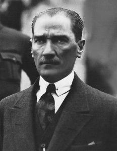 Mustafa Kemal Atatürk 1923 | Public Domain