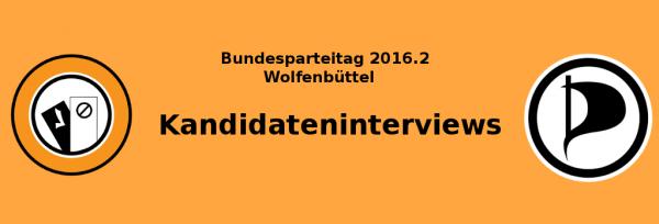 Kandidateninterviews BPT 16.2 | CC BY SA 3.0 Steve König