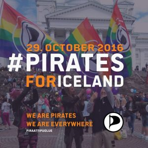 Piraten für Island | CC BY Piratenpartei Island