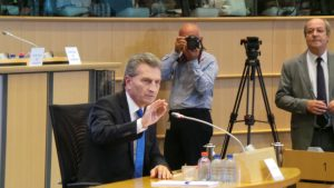 Günther Oettinger #EPHearings2014 | CC BY NC ND 2.0 epp group