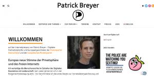 Website Patrick Breyer